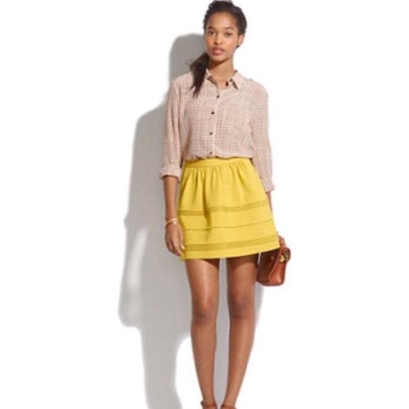 7e737326a4 Madewell Dresses & Skirts - Madewell Silhouette Skirt